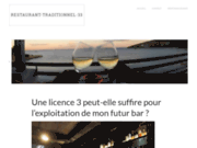 screenshot http://www.restaurant-traditionnel-33.com restaurant à bordeaux