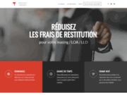 screenshot https://restitution-leasing.fr/ restitution