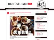 screenshot http://www.resto-de-paris.com resto de paris