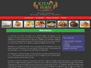 Restaurant Khao Horm Thaï – spécialités asiatiques