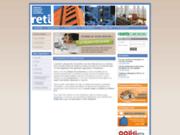 screenshot http://www.reti.fr reti - diagnostic et expertise immobilière