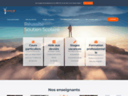 screenshot http://www.reussite-coaching.com/ Soutien scolaire