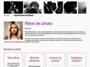 screenshot http://www.revedephoto.com/ rêve de photo
