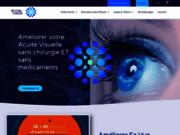 screenshot http://www.revitalvision.fr/ Exercice rééducation visuelle