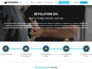 screenshot https://www.revolution-dsi.com Management de transition SI