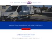 screenshot http://www.rgcfrance.fr cuves inox à rhône alpes