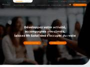 screenshot http://www.rh-solutions.com portage salarial