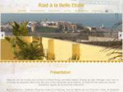 screenshot http://www.riad-alabelle-etoile.com riad à la belle etoile maison d'hôtes rabat salé