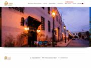 screenshot http://www.riad-yacout-meknes.com riad meknes maison d'hôtes, maroc - riad yacout