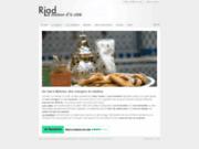screenshot http://www.riadmaisondacote.com riad la maison d'à côté - maison d'hôtes - meknès