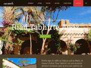screenshot http://www.riadtabhirte.com hotel ouarzazate