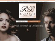 screenshot http://www.richard-b-coiffure.net Salon de coiffure