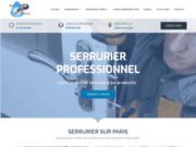 screenshot http://www.richardetfils.com un service de dépannage serrurerie Paris