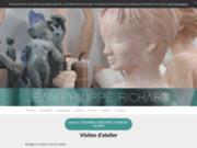 screenshot http://www.richardsculpteur.com jean-philippe richard, sculpteur contemporain