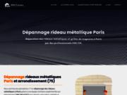 Depannage rideau metallique Paris pas cher