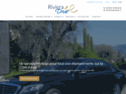 screenshot http://www.rivieradriver.com location de voiture avec chauffeur