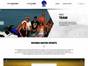 screenshot http://www.rivierawatersports.com base nautique de grimaud