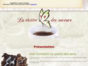 screenshot http://www.rivieredessaveurs.com salon de thé meximieux 01, comptoir café, arabic