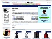 screenshot http://robeschinoises.fr robe chinoise