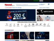 screenshot http://www.robinetterie-hammel.fr plomberie, sanitaire et chauffage avec hammel robinetterie