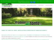 screenshot http://www.robot-de-tonte.fr Installateur de tondeuse robot