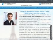 screenshot https://www.rocard-avocat.fr/ Avocat en droit fiscal à Paris