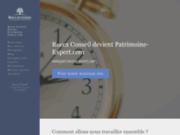 screenshot http://www.rocca-conseil.fr Gestion de patrimoine