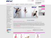 screenshot http://www.roch-valley.fr Articles de danse Roch Valley