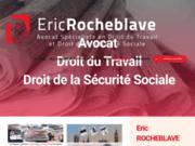 screenshot http://www.rocheblave.com avocat montpellier spécialiste en droit social - droit du travail - cabinet avocat - conseil,
