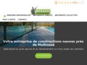Spécialiste du gros œuvre et du terrassement sur tous types de chantiers