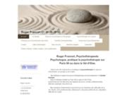 screenshot http://www.roger-francart.org psychotherapie