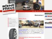 screenshot http://www.roine-pneus.fr/ Les pneus à prix discount !