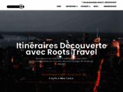 screenshot http://www.rootstravel.com hotel, séjours, voyage, location de voiture avec roots travel