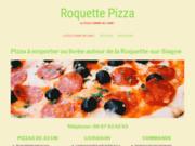 Roquette Pizza, une soixantaine de pizzas au choix
