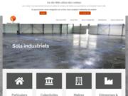 screenshot http://www.rosa-dallage.com/ rosa dallage - réalisation sols indutriels