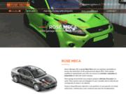screenshot http://www.rose-meca.fr/ garage auto