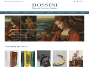 screenshot http://www.rossini.fr/ ROSSINI