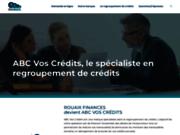 screenshot http://www.rouaixfinances.fr/ Spécialiste du rachat de crédits depuis 20 ans