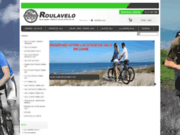 screenshot http://www.roulavelo.com roulavelo