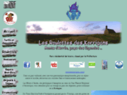 screenshot http://www.roulottes-des-korrigans.com les roulottes des korrigans
