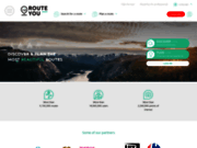 screenshot http://www.routeyou.com routeyou - recherche de rando vtt