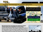 rpg international navettes aéroport orléans