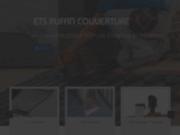 screenshot http://www.ruffin-couverture.fr/ spécialisée dans les travaux de toiture