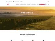 Ruli Vins SA - Vente en ligne de vins français et italiens