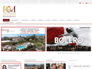 screenshot http://www.russian-riviera.info/fr/ Site internet russe sur la Côte d'Azur