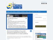 screenshot http://www.sa89.com stade auxerrois badminton