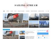 screenshot https://sailing-stream.fr actualité nautique