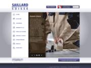 screenshot http://www.saillard.ch saillard frères