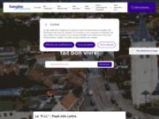 screenshot http://www.sainghin-en-melantois.fr/ mairie de sainghin en mélantois : le site internet
