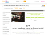 screenshot http://www.salle14.com pizzéria - salle xiv à joinville, haute marne 52